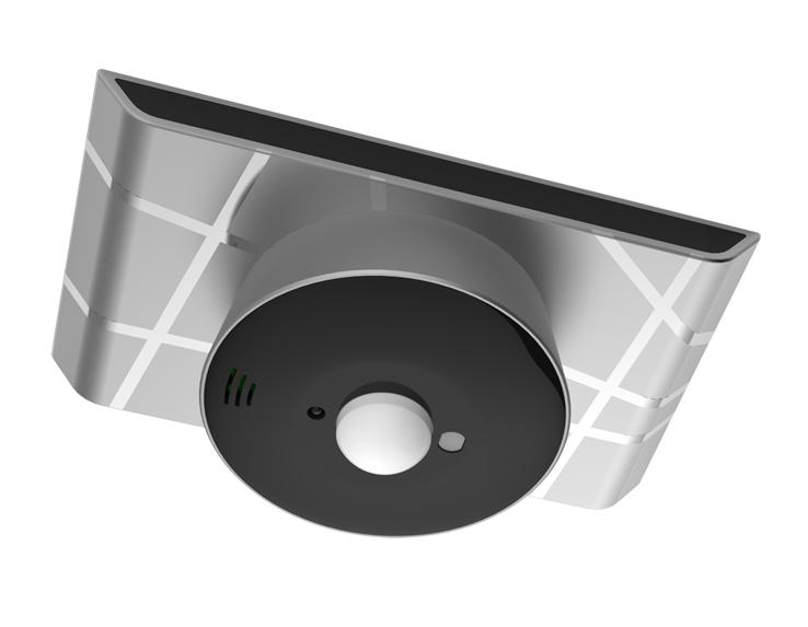 智能红外侦测温湿度光感中心